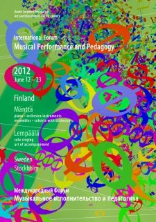 June 12 – 23, 2012. Mänttää and Lempäälä, Finland