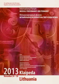 November 24 - 30, 2013. Forum in Klaipeda
