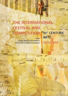 2020, November 29. Piano&String competition, Kiev
