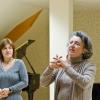 Klosterneuburg 01.11. Ariadne Basili-Canetti and Evgenia Radoslavova