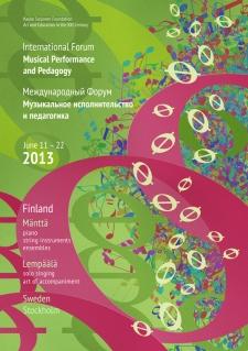 11 – 22 июня 2013. Форум в Финляндии