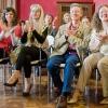 Lonigo, Italy. Audience