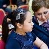 Klosterneuburg 01.11. Student and teacher  Kamila Kakhirmanova and Dana Ali