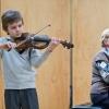 Vienna, Yamaha concert hall. Andrey Zubenko and Nina Gornovaya
