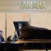 Vienna, Yamaha concert hall. Kristina Budvytytė and Adelė Daunoravičiūtė