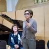 Vienna, Yamaha concert hall. Dana Ali, Tatjana Romaškina, Stanislaw Tichonow